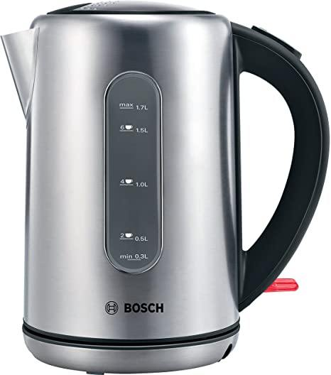 Bosch TWK7901GB 1.7L Kettle In Stainless steel