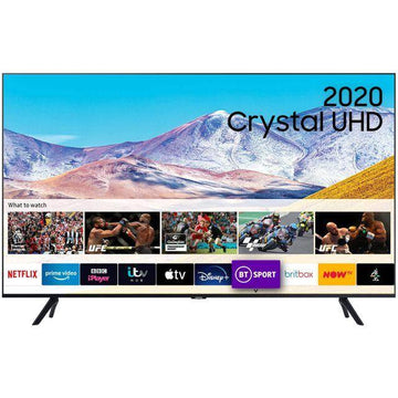 Samsung UE82TU8000 (2020) HDR 4K Ultra HD Smart TV, 82 inch with TVPlus, Black