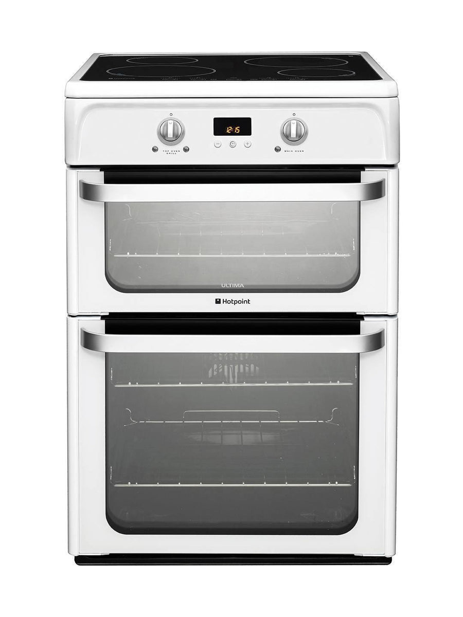 Hotpoint HUI612P Electric Induction Cooker In White - **(£50.00 cashback = £538.00)**