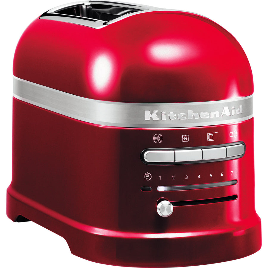 KitchenAid 5KMT2204BCA Artisan 2 Slice Toaster In Candy Apple Red