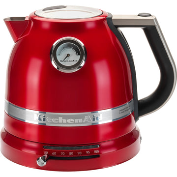 KITCHENAID Artisan 5KEK1522BCA Traditional Kettle In Candy Apple Red