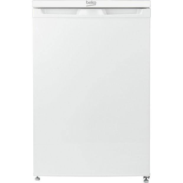 Beko UR4584 Freestanding Undercounter Fridge With Freezer Compartment - A++ Rated