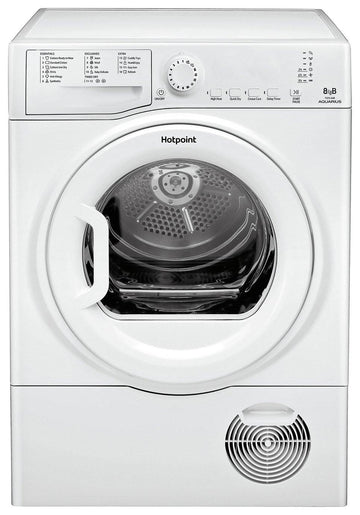 Hotpoint TCFS83BGP 8Kg Condenser Tumble Dryer In White