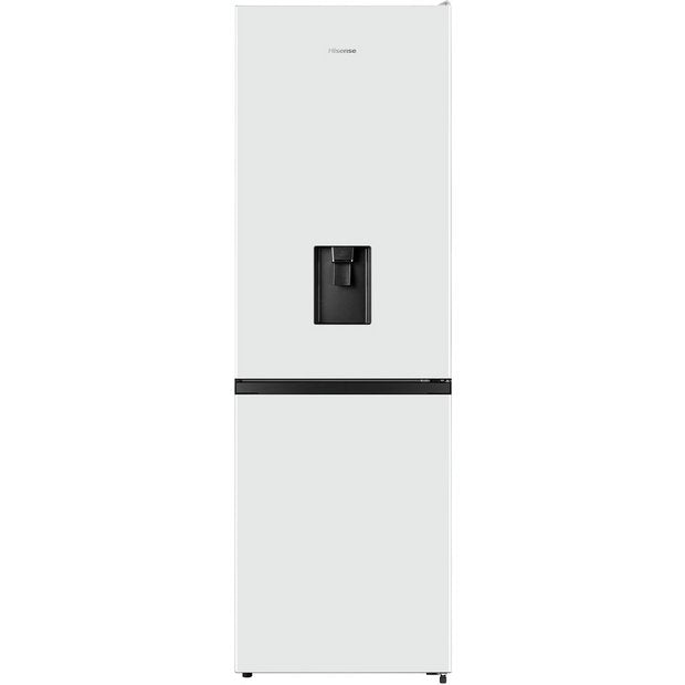 Hisense RB390N4WW1 70/30 Frost Free Fridge Freezer with Water Dispenser - White - A+ Rated