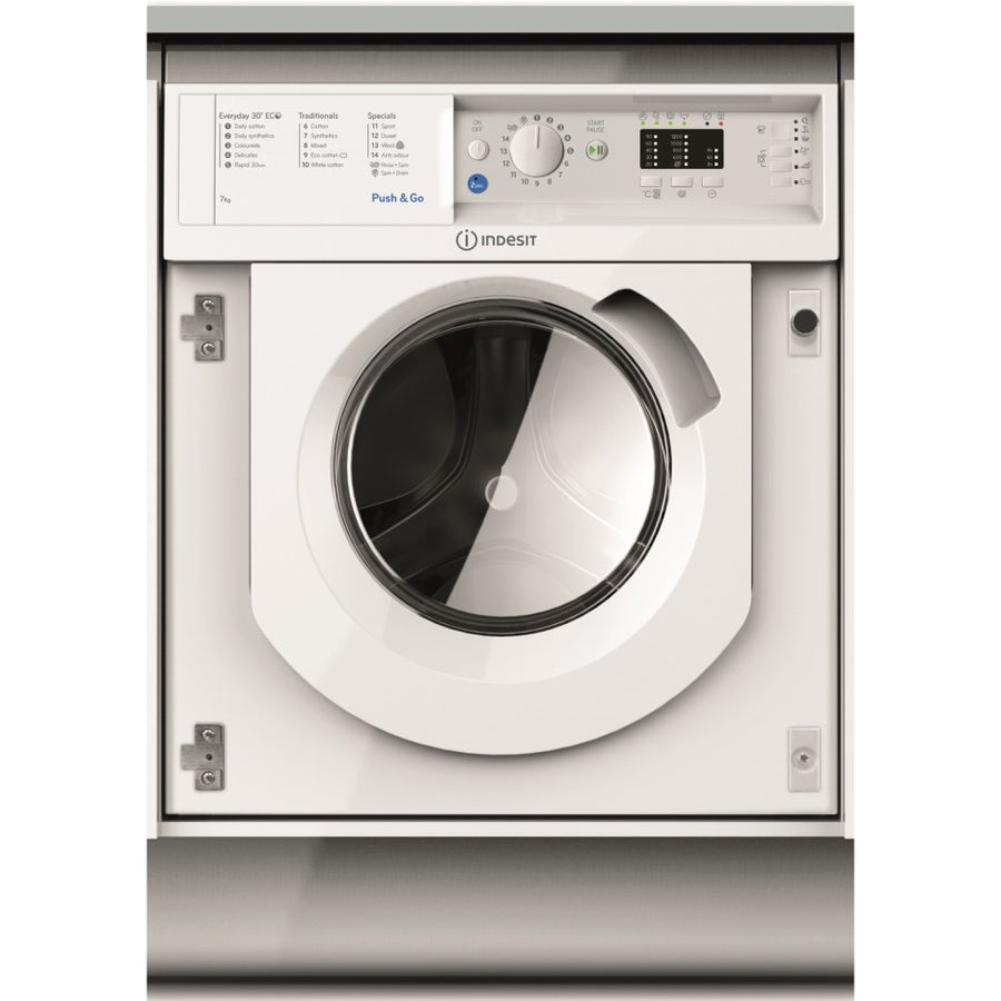 Indesit  BIWMIL71252UK, 7kg Built In Washing Machine