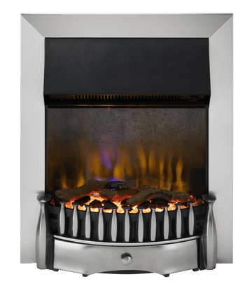 Dimplex BRM20CH Braemar Chrome Optiflame 3D Electric Inset Fire In Chrome