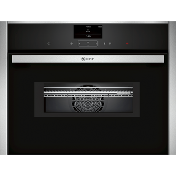 Neff C17MS32H0B Built-in Combination Microwave Oven, Stainless Steel