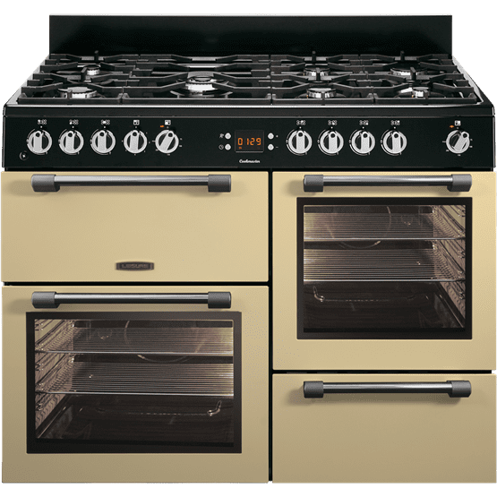 Leisure Cookmaster CK110F232C 110cm Dual Fuel Range Cooker - Cream - A Rated - £1095 - After £200 Cashback from Leisure - £895 (T&C Apply)