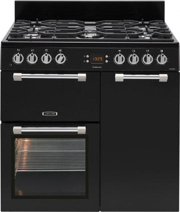 LEISURE CK90F232K Cookmaster Black 90cm Dual Fuel Range Cooker £839 - After £100 Cashback from Leisure - £739 (T&C Apply)