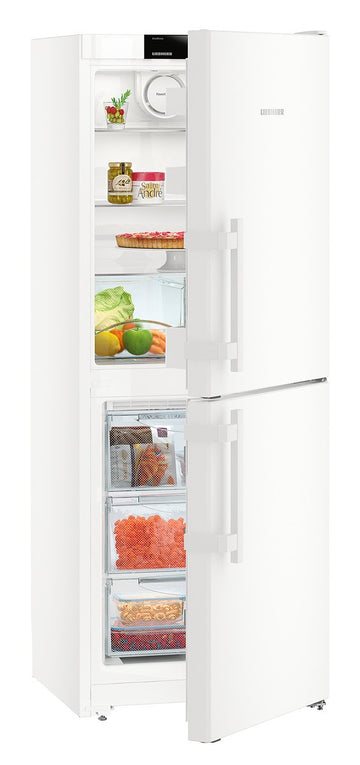 Liebherr CN3115 162.3 x 60cm Freestanding 50/50 Fridge Freezer, A++ Energy Rating, 60cm Wide, White