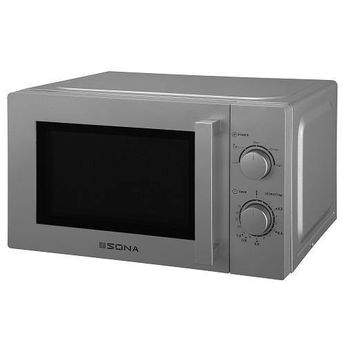 SONA 980548 Silver 20 LITRE 700W MICROWAVE OVEN