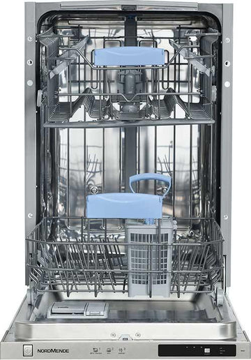 Nordmende DF451 Slimline Integrated Dishwasher - A++ Rated - Free 3 Year Parts&Labour Warranty On Registration