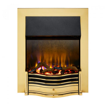 Dimplex DMF20BR Dumfries Optiflame Inset Fire In Brass