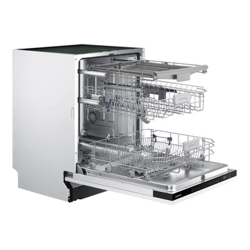 Samsung DW60M6070IB 14 Place Fully Integrated Dishwasher With Cutlery Tray