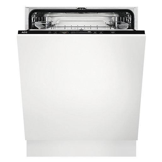 AEG FSK52617Z 13 place settings integrated dishwasher with AirDry tech