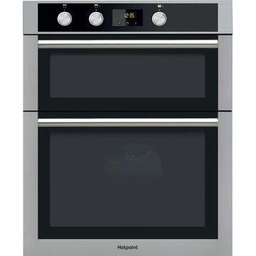 Hotpoint DD4544JIX Electric Built-in Double Oven - Stainless Steel