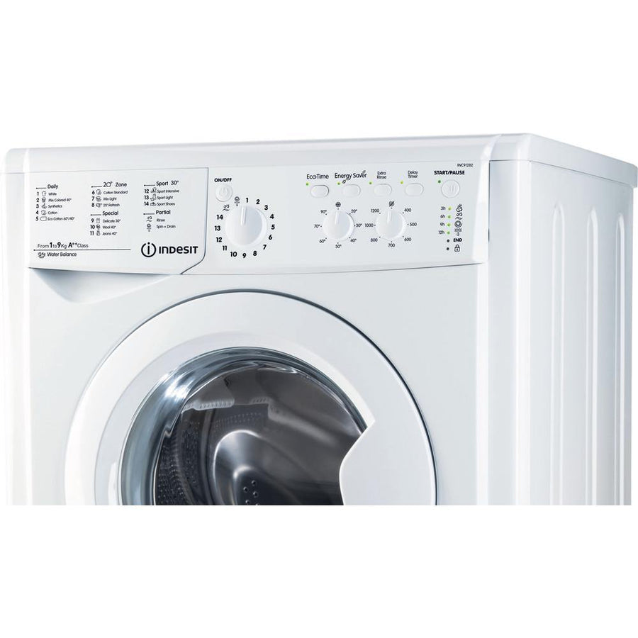 Indesit IWC 91282 9KG Washing Machine with Ecotime & 1200rpm Spin