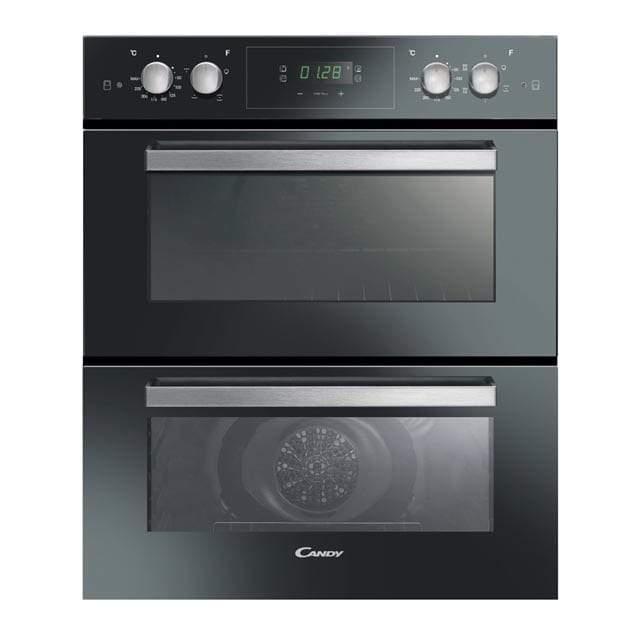 Candy FC7D415NX Electric Built-under Fan Double Oven - Stainless Steel