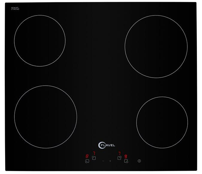 Flavel by Beko FLH67C 60cm Touch Control Frameless Ceramic Hob with Free 2yr Parts & Labour Warranty