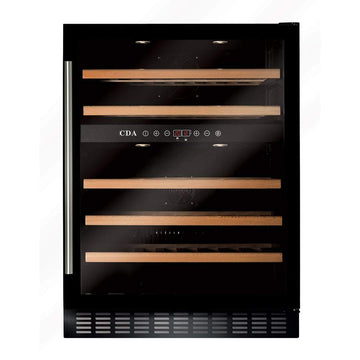 CDA FWC603BL Freestanding/ under counter wine cooler