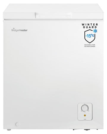 Fridgemaster MCF139 Chest Freezer - White