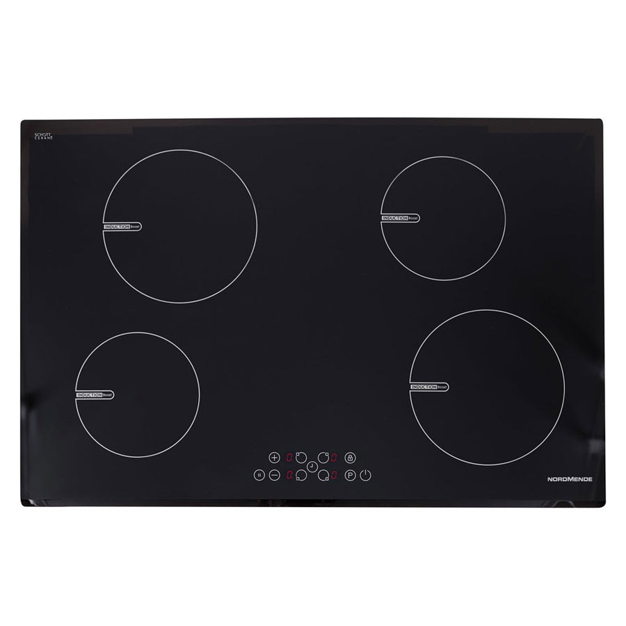 Nordmende HCI79FL 78 cm Induction Hob - Free 3 Year Parts&Labour Warranty on Registration
