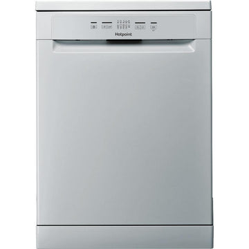 Hotpoint HFC2B19SV 13 Place Energy Efficient Freestanding Dishwasher In Silver