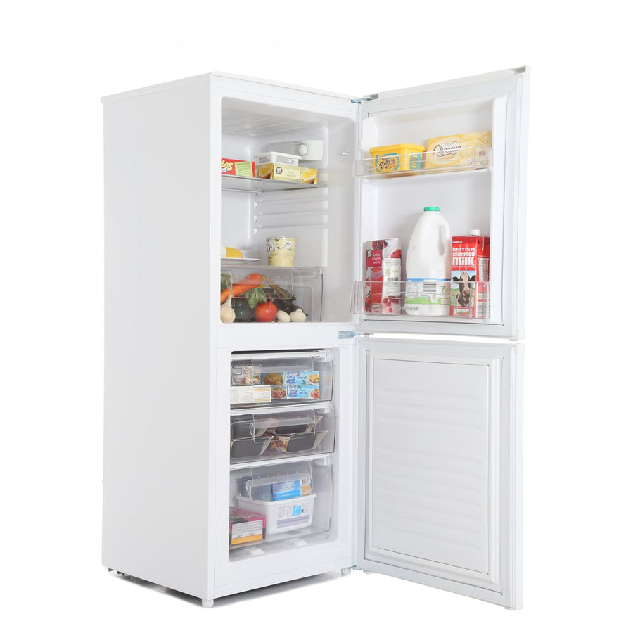 Hoover HSC536W 136 x 55cm Freestanding Fridge Freezer - White
