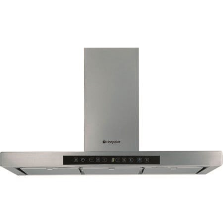 Hotpoint HT93X Touch Control 90cm Chimney Cooker Hood Stainless Steel