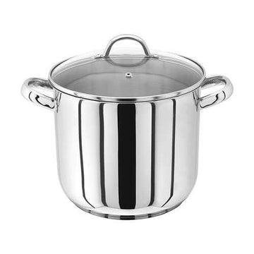 Judge 22cm Stainless Steel Stockpot With Vented Glass Lid, 6.5 Litre