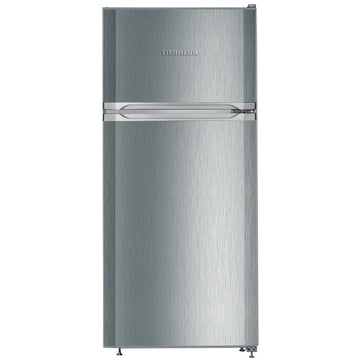 Liebherr CTel2131 124x55cm Top Mount Freestanding Fridge Freezer - Stainless Steel Look