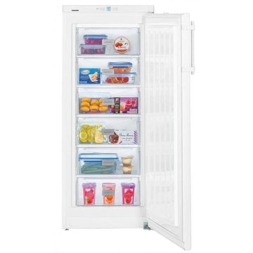 Liebherr GP2433 Freestanding Freezer, A++ Energy Rating, 60cm Wide, White