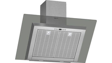 Neff D39GL64N0B Wall-Mounted Cooker Hood 90 cm In Grey Glass