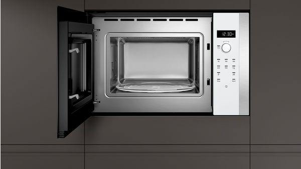 Neff HLAWD53W0B Built-In 38cm 900 W Microwave - White