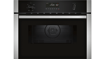 Neff C1AMG84N0B Built-In Compact Oven With Microwave Function In Stainless Steel