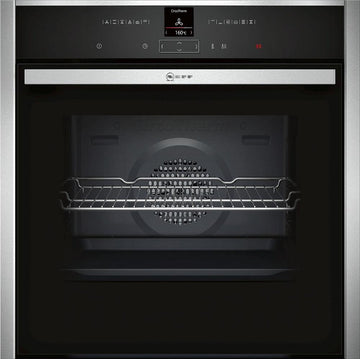 Neff B17CR32N1B CircoTherm Built-In 60 cm Oven Stainless steel - A+ Rated
