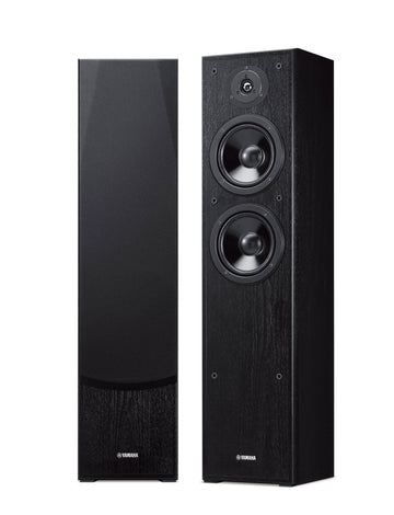 Yamaha NS-F51 Floorstand Speakers - Black