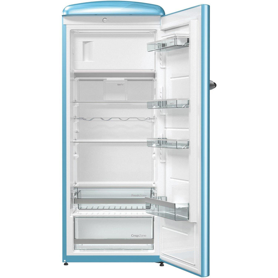 Gorenje Retro Collection ORB153BL Fridge with Ice Box - Blue - A+++ Rated