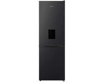 Hisense RB390N4WB1 70/30 Frost Free Fridge Freezer - Black - A+ Rated