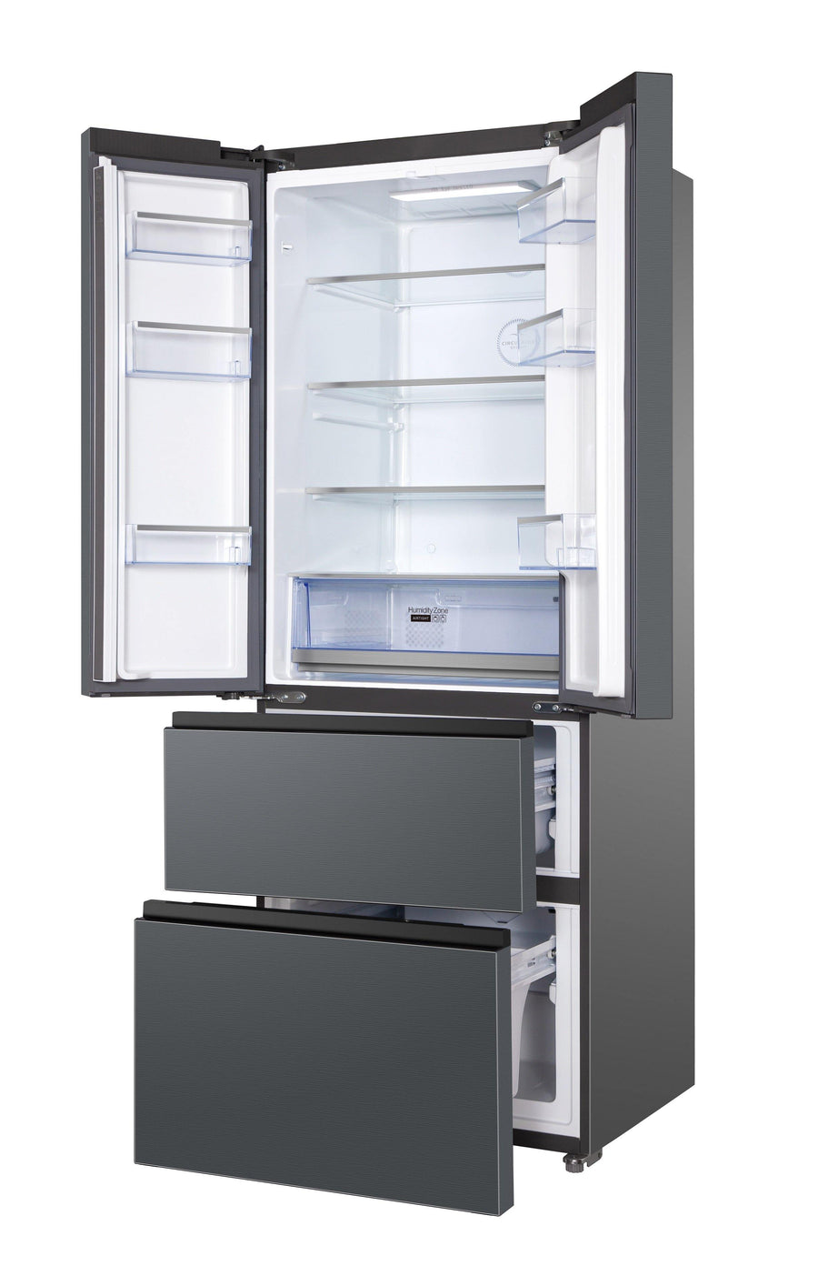TCL RF436GM1110 Multi-door 70 cm Total No-frost  Fridge Freezer 390L - A+ Rated
