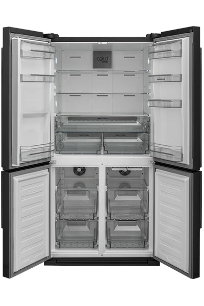 NordMende RF4DVRIXA+ Four Door No Frost Fridge Freezer  - with free 3yr Parts & Labour Warranty on registration