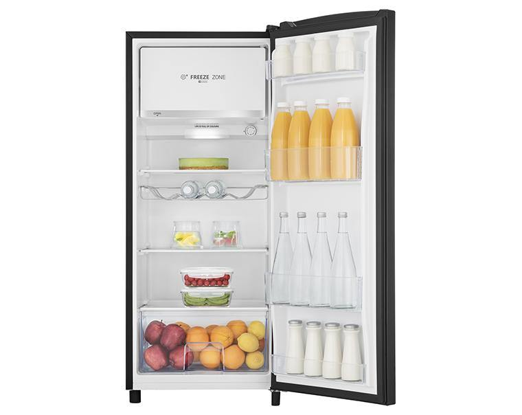 Hisense RR220D4AB21 Tall Fridge - Black - A++ Rated