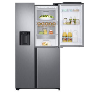 Samsung RS68N8670S9 American Style Fridge Freezer, A+ Energy Rating, 91cm Wide, Stainless Steel with £300 Cashback from Samsung if purchased by 07/04/2020 (T&C Apply)