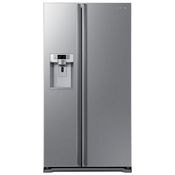 SAMSUNG RSG5UUSL American Style Fridge Freezer with Ice & Water in Silver