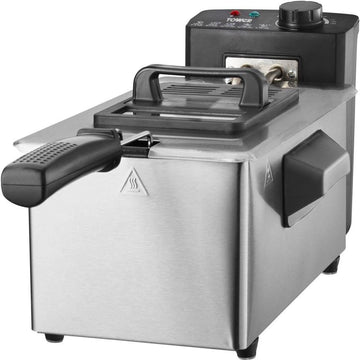 Tower T17048 3L Deep Fat Fryer - Stainless Steel