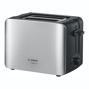 Bosch TAT6A913GB Comfort Line Two Slice Toaster In Stainless Steel