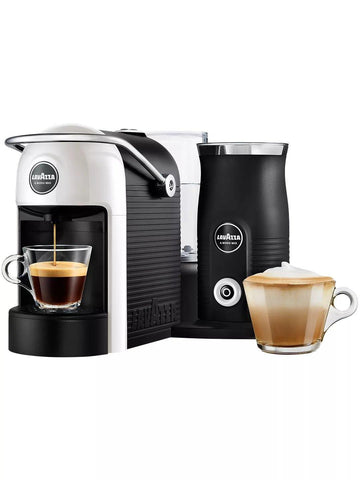 Lavazza LM700 A Modo Mio Jolie Plus Coffee Machine with Milk Frother, White