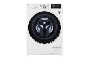 LG FWV595WS Vivace WiFi-enabled 9 kg Washer Dryer In White with Free 5yr Parts & Labour Warranty