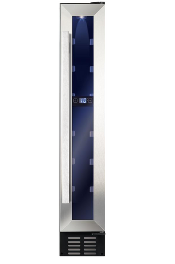 AWC151SS Freestanding/ under counter slimline wine cooler