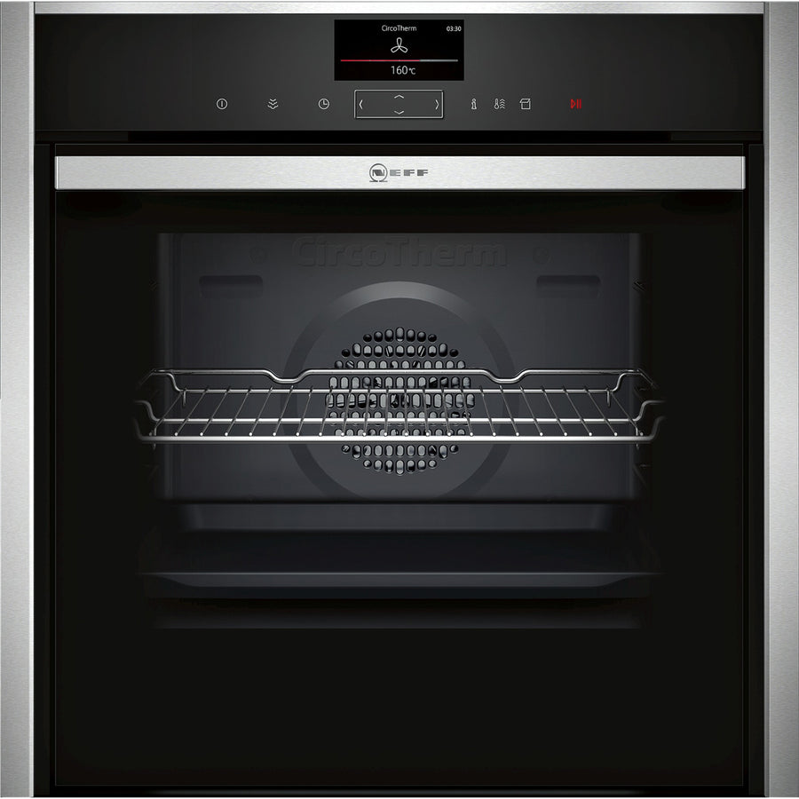 Neff B47VS34H0B Built-In Electric Single Electric Oven, Stainless Steel